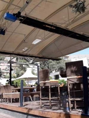 گرمایش تابشی لوله ای رستورانها ، ویلاها و فضای باز