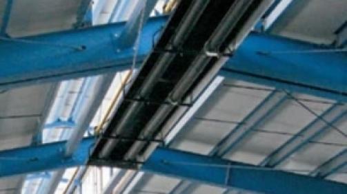 گرمایش تابشی لوله ای مناسب سالن های صنعتی