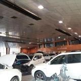 سیستم گرمایشی مناسب تعمیرگاه خودرو